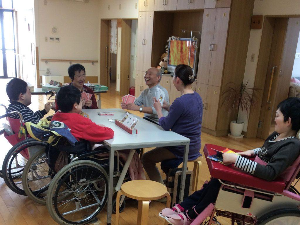 障害者支援施設山郷館くろいし